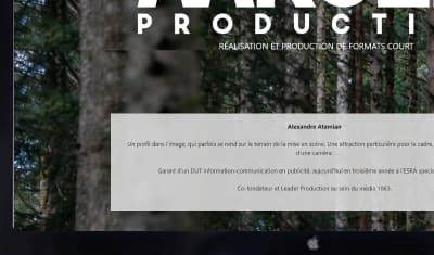 Site Vitrine Aarsen Production