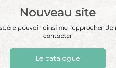 Site e-commerce pour une créatrice de bijoux