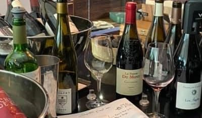 Séance création d'accords mets et vins restaurant étoilé La Mare aux Oiseaux