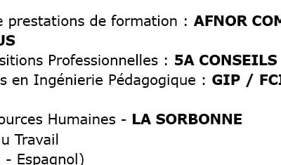 Mes certifications