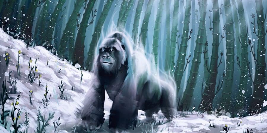 Gorilla Illustration