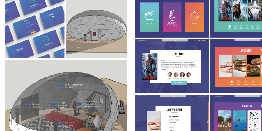 Bulle digitale |  Sketch & Sketchup |  Application & modélisation 3D