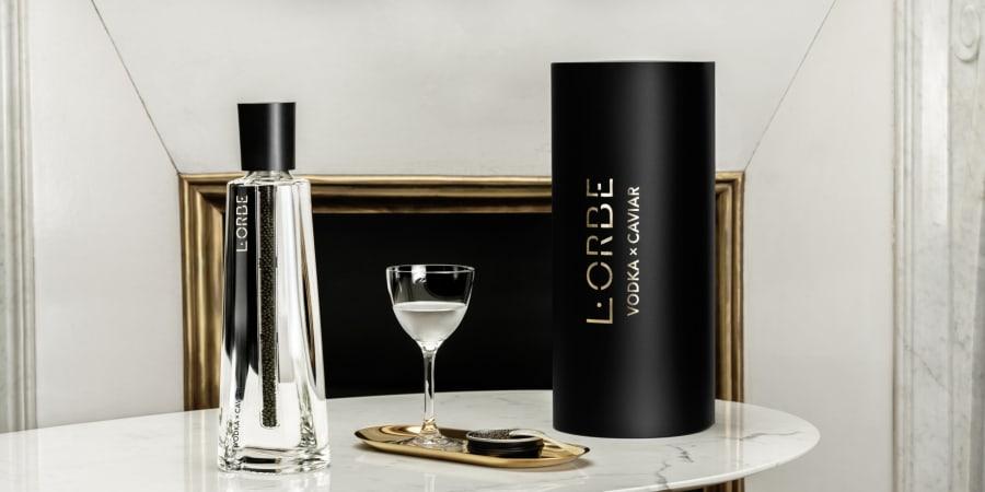 Packaging pour L'Orbe, une marque de Pernod Ricard