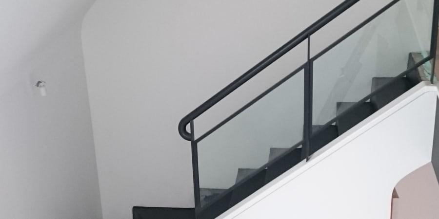 escalier beton nantes