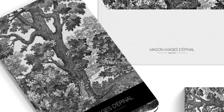 MAISON IMAGES D'EPINAL . LOGO & BRAND ID