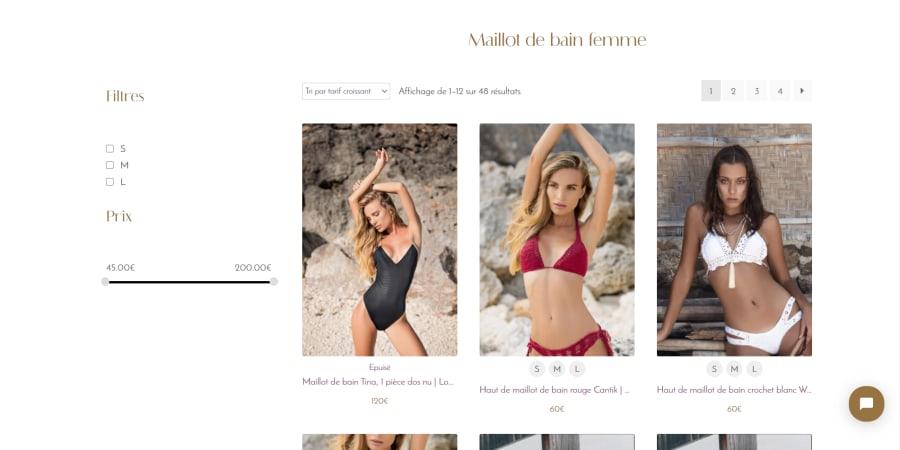 La Caravelle - e-commerce de maillots de bain pour femme