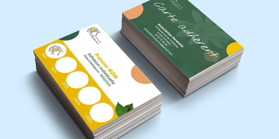 Association Perennis - Création de cartes