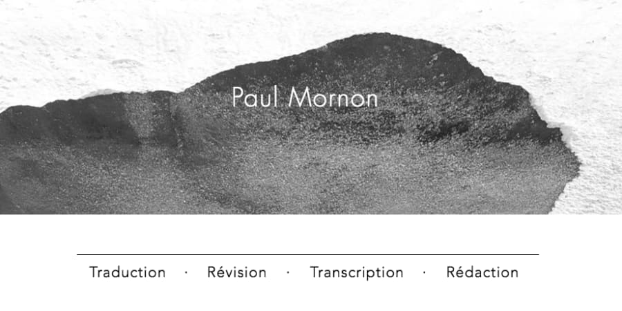 Paul Mornon Traduction