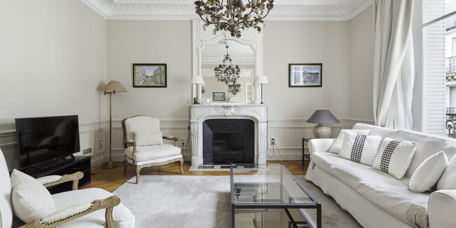 Photo d'un bel appartement Parisien