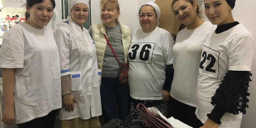 Mes élèves de Tashkent