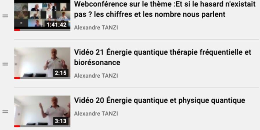 Vidéos 19 à 21 + 2 webconférences