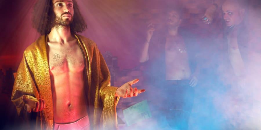 Jesus in the backroom