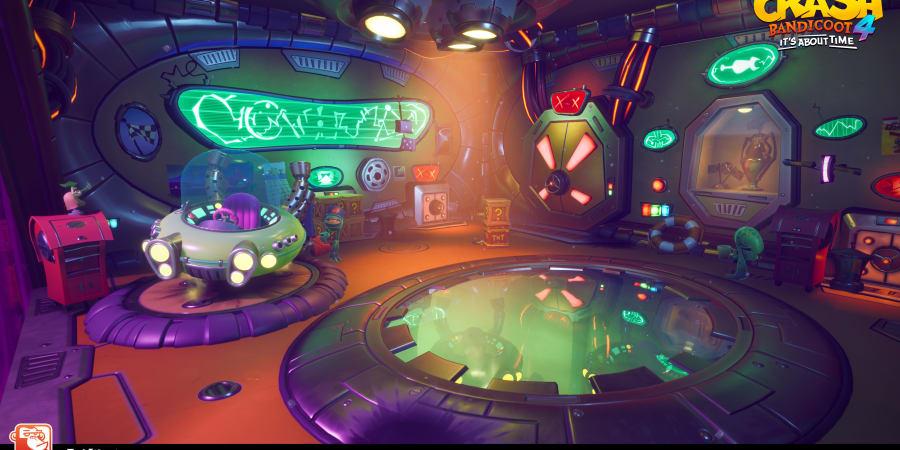 Crash Bandicoot 4 - Environment
