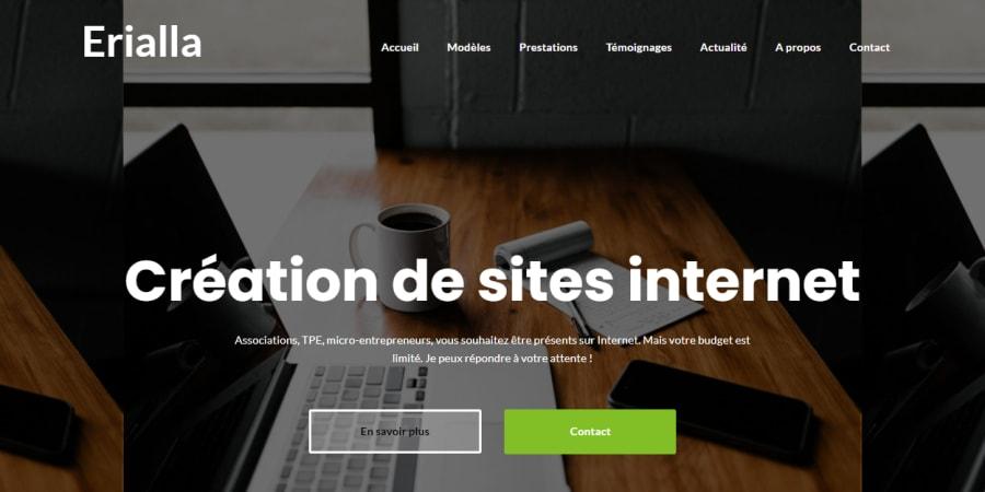 Création du site et rédaction