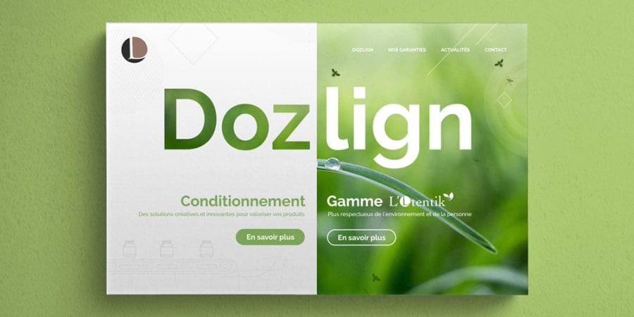 Maquette Webdesign