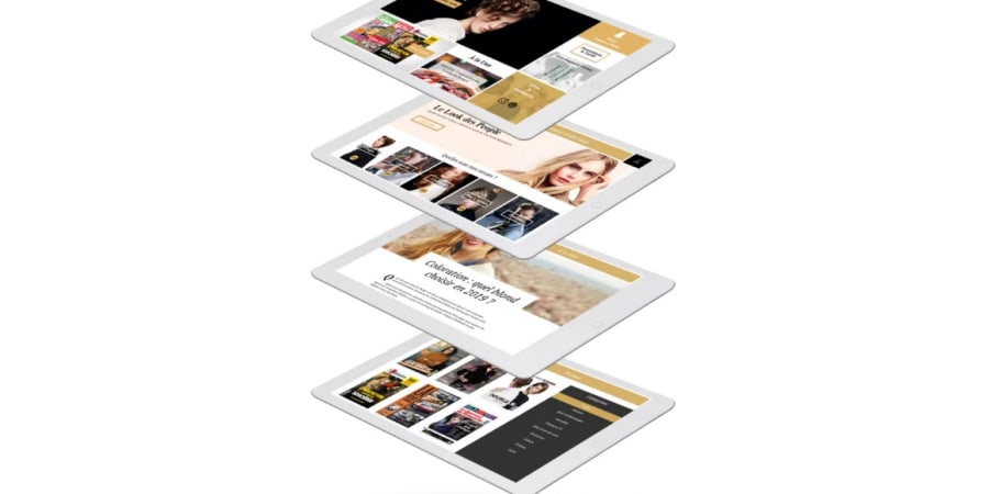 Application tablette - Salons Jean-Louis David