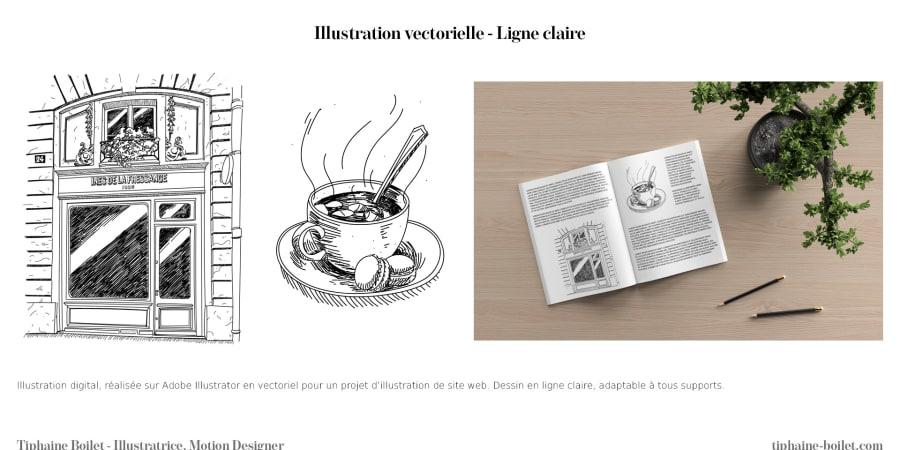 Illustration classique en dessin vectorielle