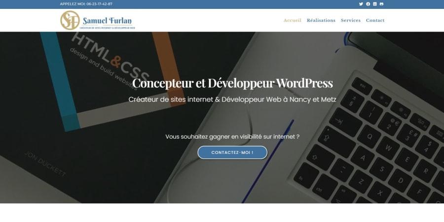 Site WordPress   Site  perso