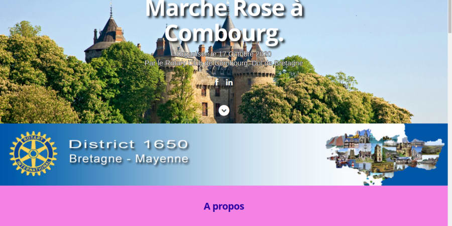 Marche Rose Combourg