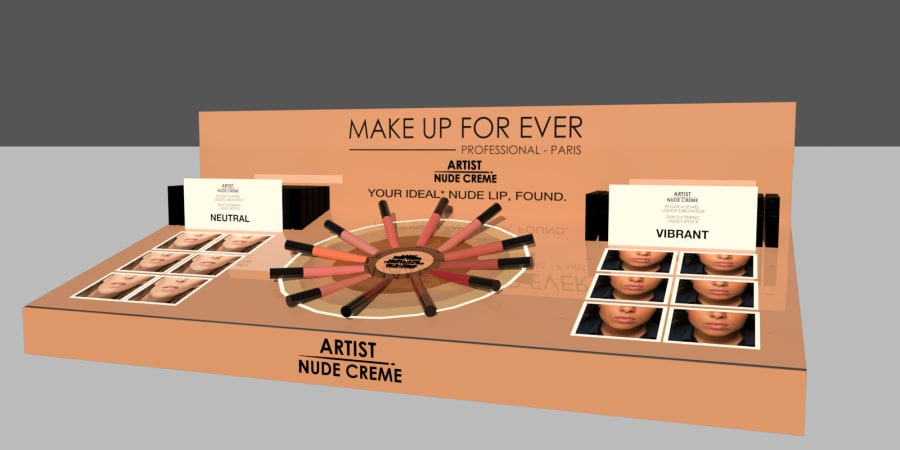 Proposition de Projet asset Sephora pour Make up for ever