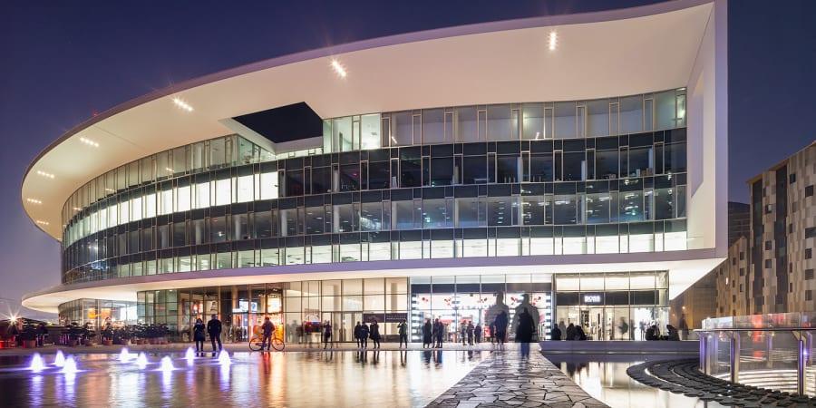 Centre commercial à Milan
