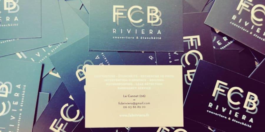 FCB Riviera création de logo + déclinaisons