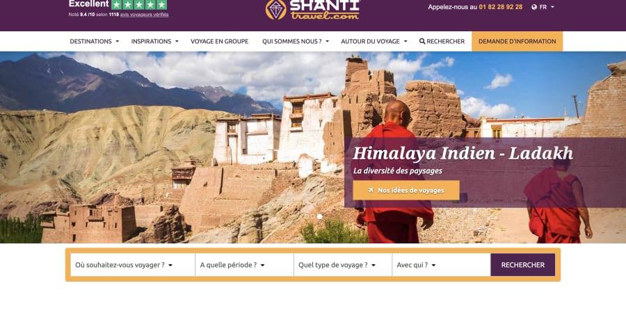 Rédaction - Shanti Travel