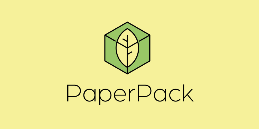 Logo et Identité de marque de PaperPack