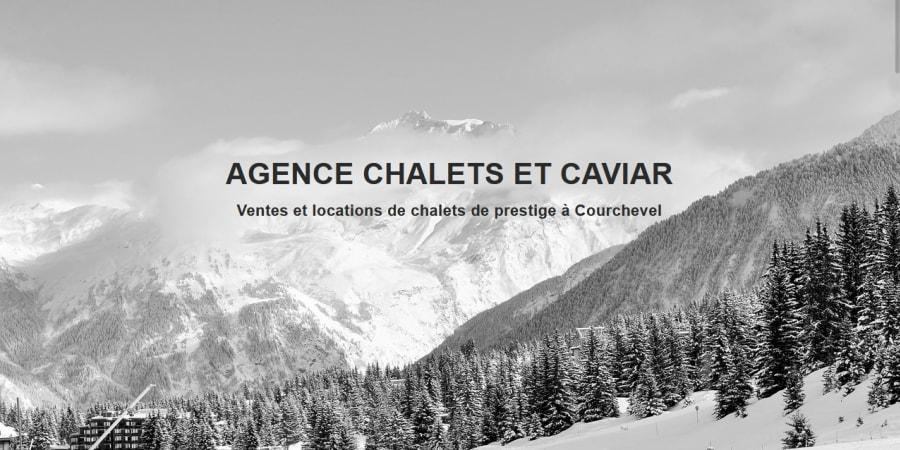 Création d'un site vitrine d'une agence de ventes et locations de chalets de luxe avec WordPress