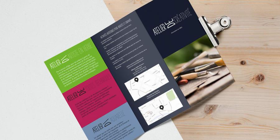 Flyer association de créativité