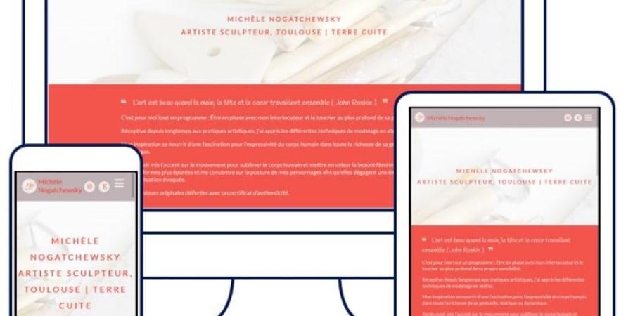 Refonte Site Vitrine / Responsive Design / Drupal 9