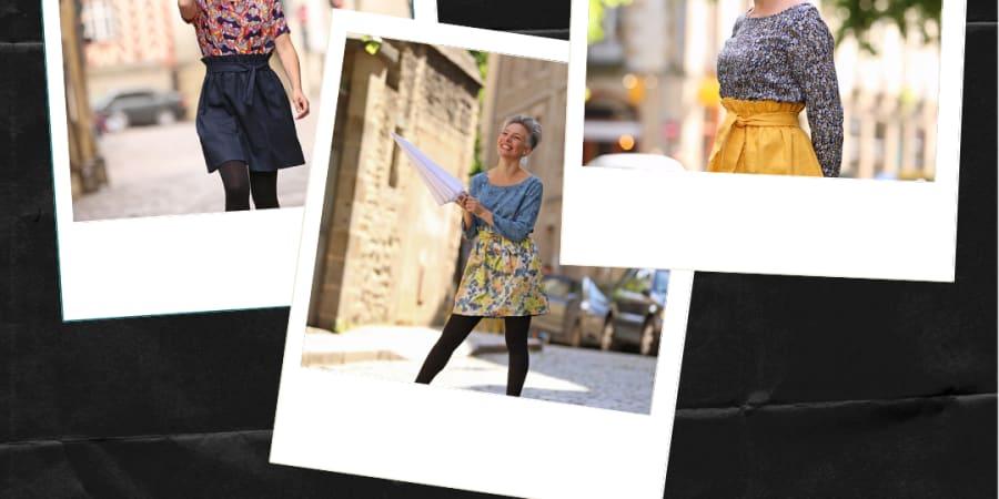 Shooting photo • Créatrice de vêtements en série limitée