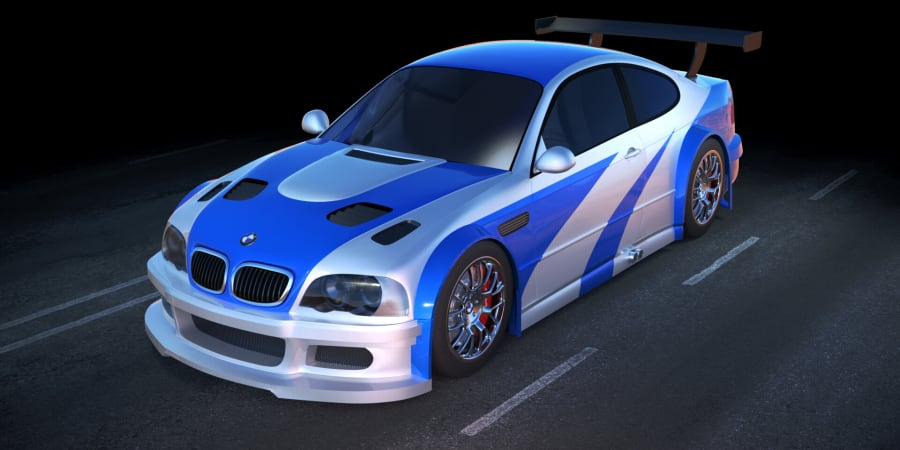 BMW GTR M3 (Need For Speed : Most Wanted (2005))