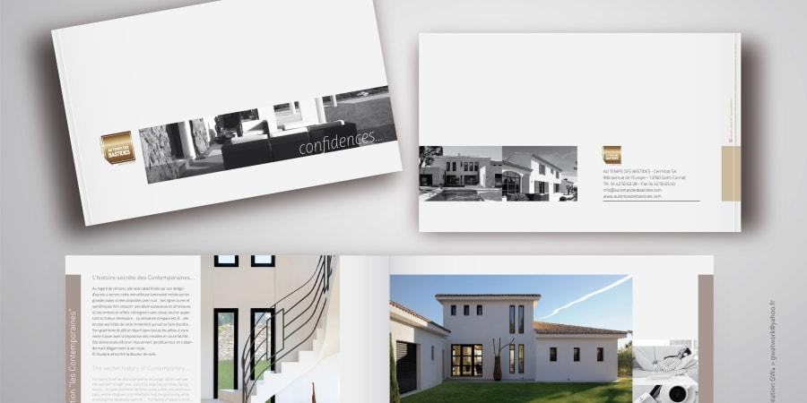 AU TEMPS DES BASTIDES :: brochure luxe 92 pages