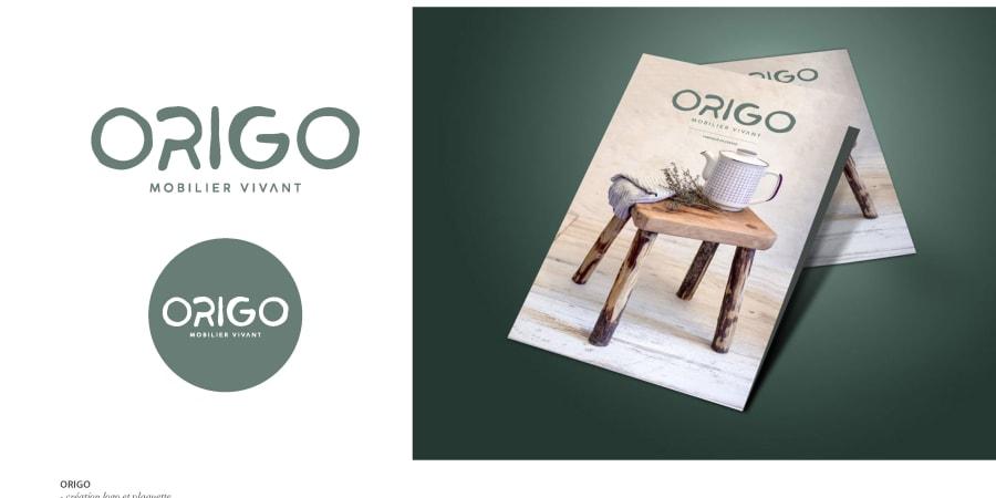Logo Origo et plaquette