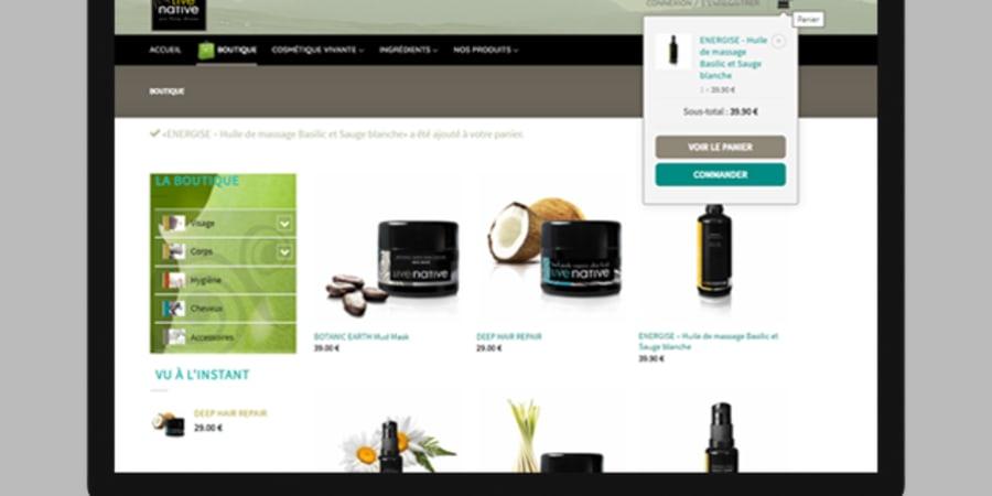 site e-commerce optimisé