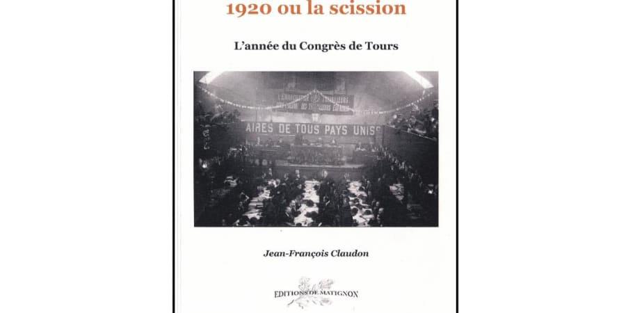 Ouvrage d'histoire politique - Jean-François Claudon