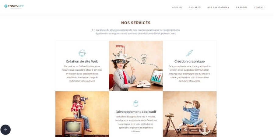 Site web Innovapp