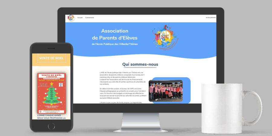 SITE WEB // portail associatif