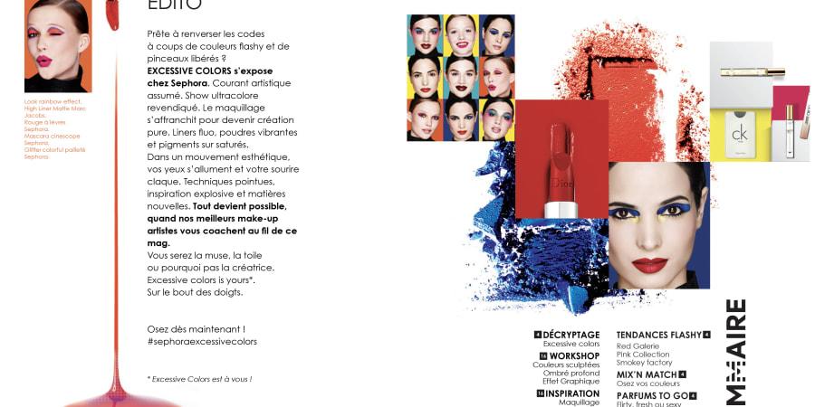 Magazie Sephora pour l'agence BETC