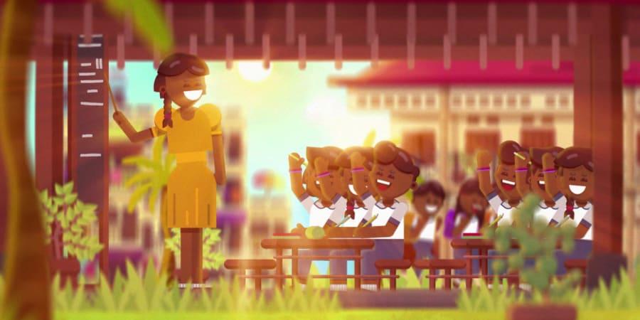 Pour un Sourire d'Enfant : vidéo parrainage