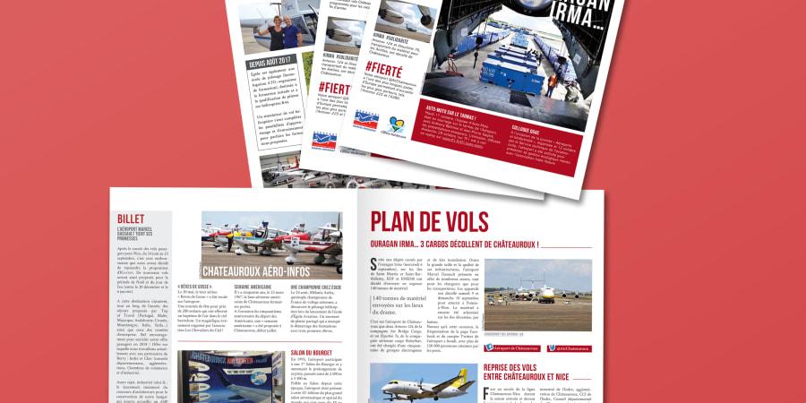 Newsletter CIEL' MON BERRY pour l'aéroport Marcel-Dassault Châteauroux