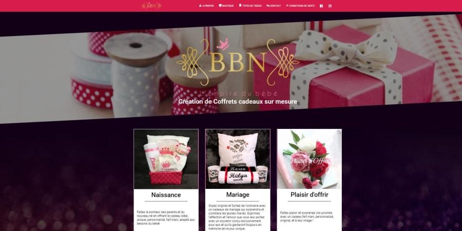 Site boutique pour une artiste créatrice