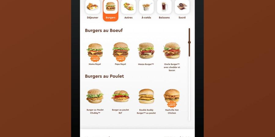 UI Design A&W