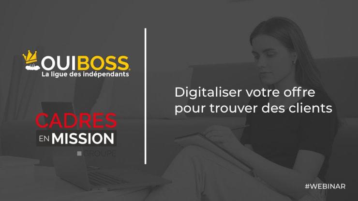 Digitaliser son offre pour trouver des clients