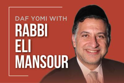 Daf Yomi with Rabbi Mansour