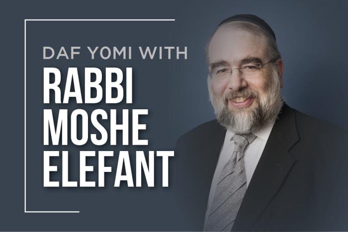 Daf Yomi with Rabbi Elefant