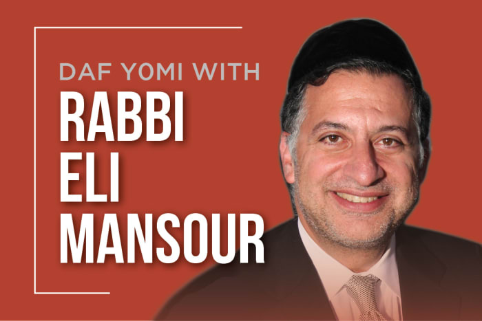 Daf Yomi with Rabbi Mansour