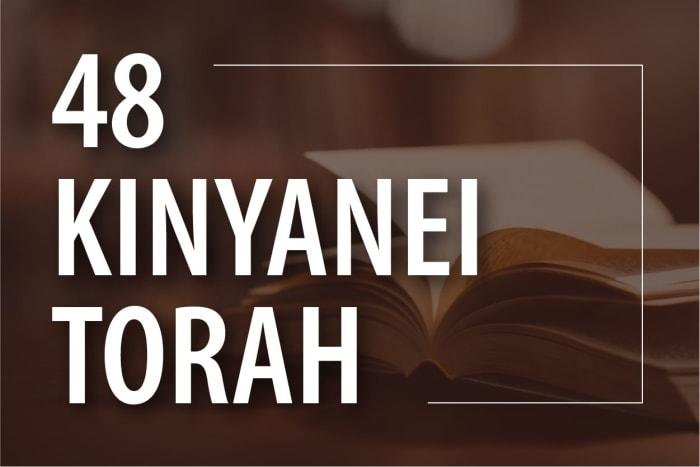 48 Kinyanei Torah