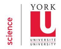 York University: SciX - Science Explorations